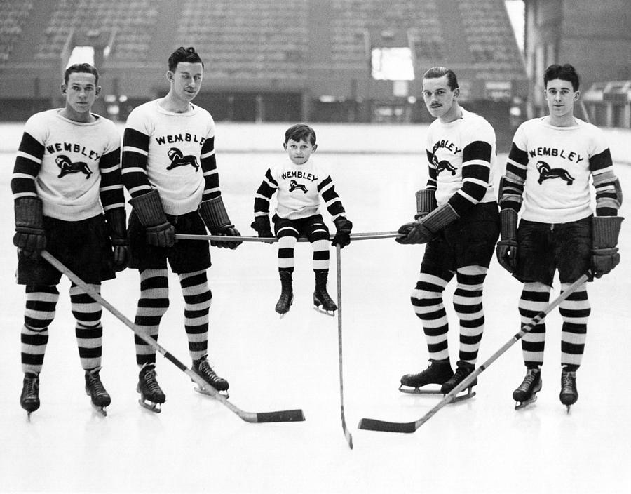 Ice Hockey Mascot Photograph by Fox Photos