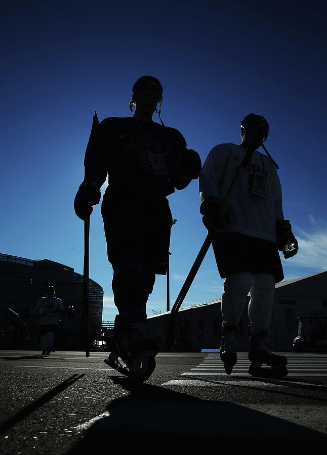Ice Hockey - Winter Olympics Day 7 Photograph by Bruce Bennett