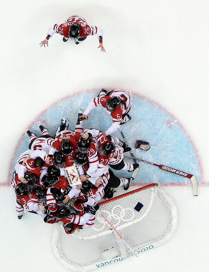 Ice Hockey - Womens Gold Medal Game Photograph by Alex Livesey