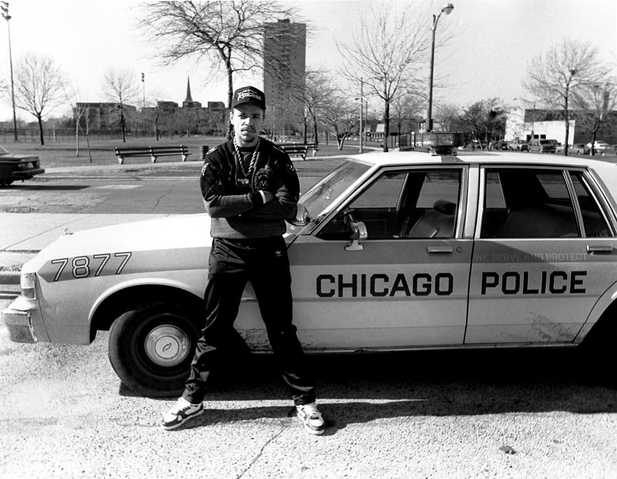 Artist Photograph - Ice-t In Chicago by Raymond Boyd