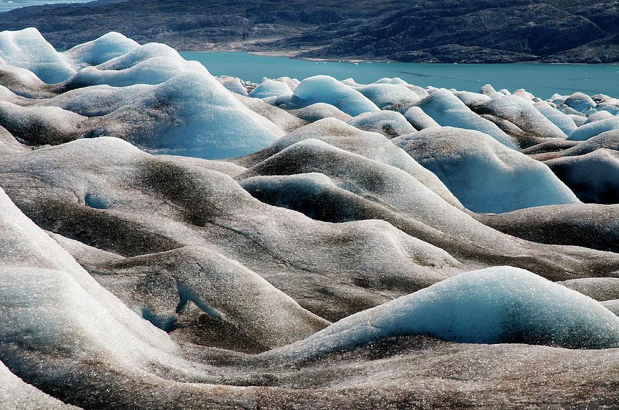 Ice Textures Photograph by Elosoenpersona Photo