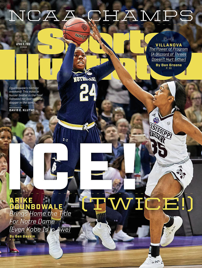 Ice Twice Arike Ogunbowale Brings Home The Title For Notre Sports Illustrated Cover Photograph by Sports Illustrated