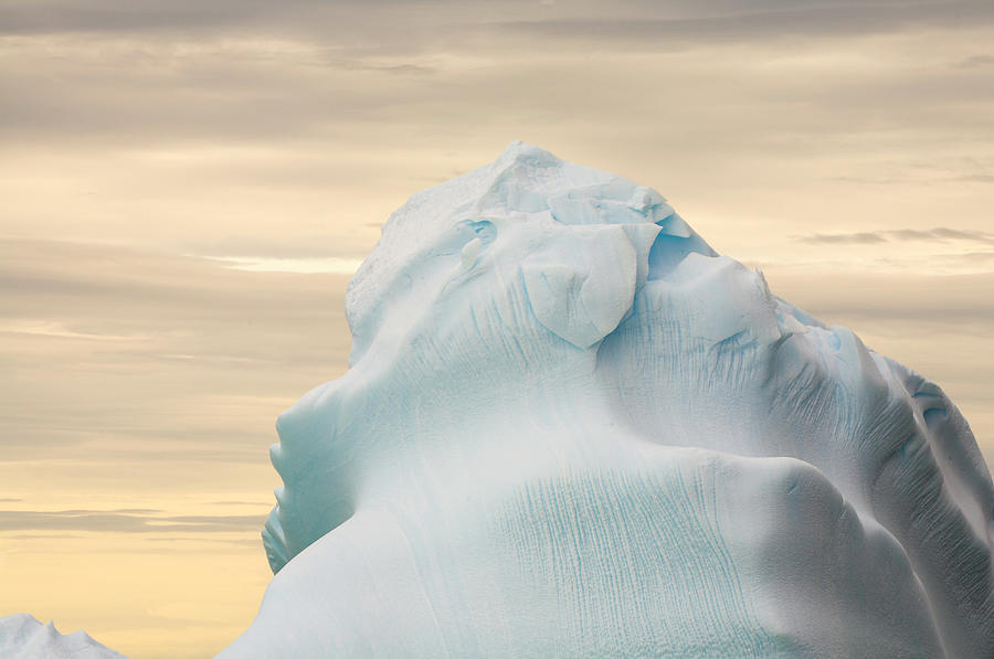 Iceberg, Cape Evensen, Antarctic Photograph by Eastcott Momatiuk