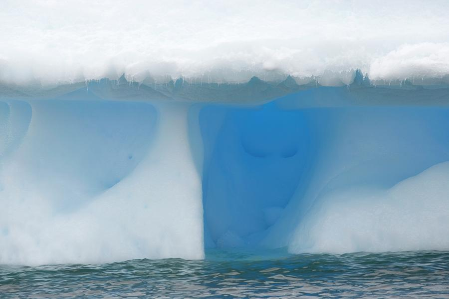 Iceberg Formation Photograph by Martin Harvey