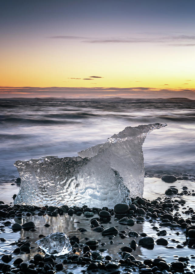Iceland Photograph - Iceberg by Framing Places