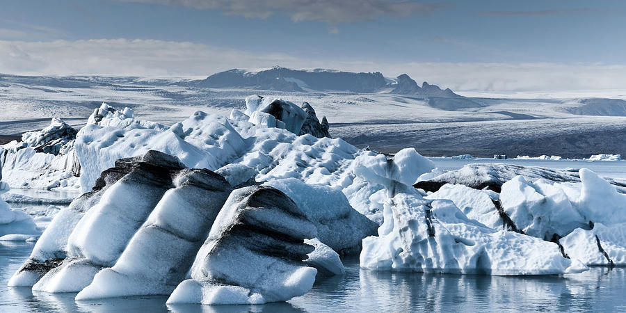 Icebergs In Iceland Photograph by Icelandic Landscape