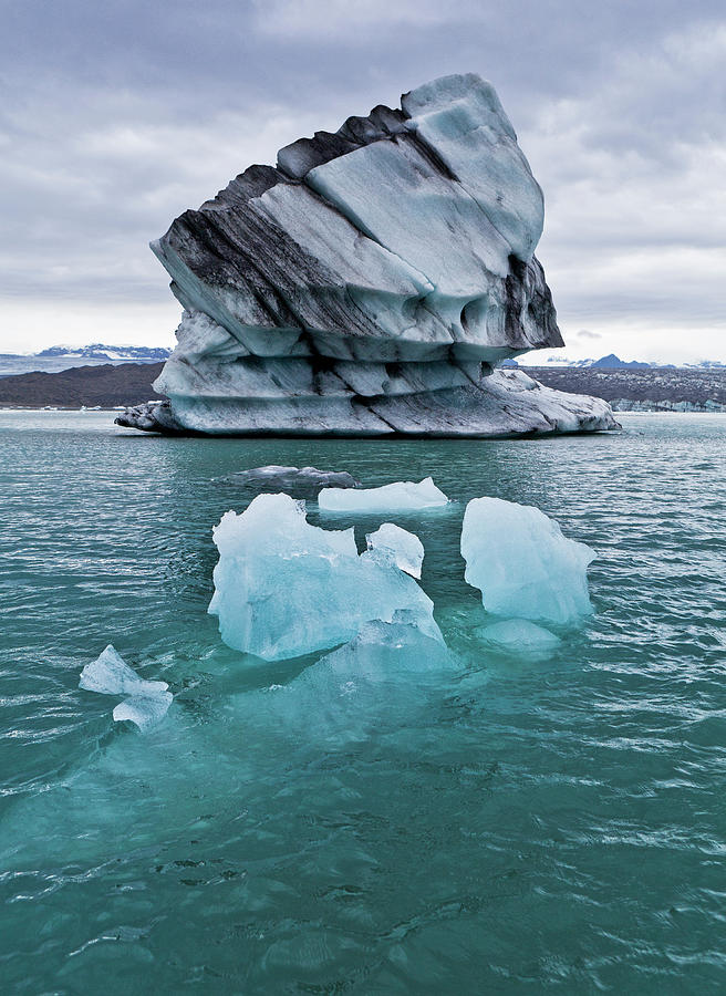 Icebergs On Jokulsarlon Glacial Lagoon Photograph by Arctic-images