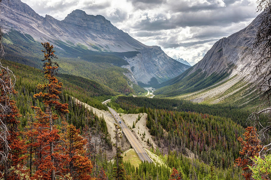 Icefield Parkway Scenic Driveway by Pierre Leclerc Photography