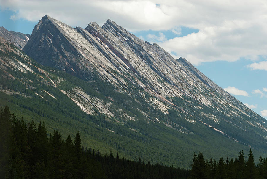 Icefields Parkway Mountain Landscape Photograph by John Elk Iii