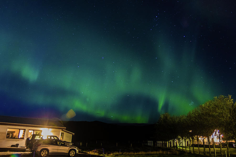 Iceland Aurora by Rich Isaacman