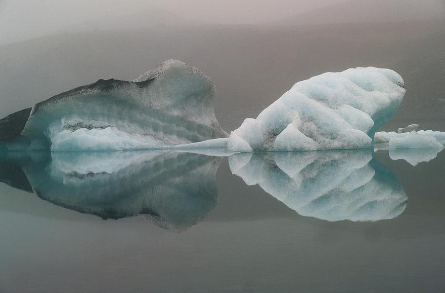 Iceland, Breidamerjokull Region Photograph by Art Wolfe