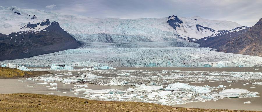 Iceland Crown Jewel The Jokulsarlon Glacier Lagoon Photograph