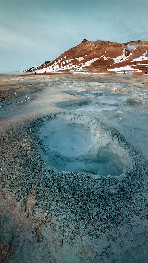 Joan Carroll Photograph - Iceland Geothermal Field by Joan Carroll