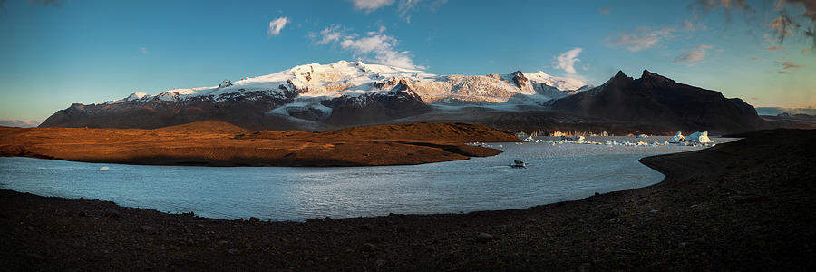 Iceland Photograph - Iceland Panorama by Peter OReilly