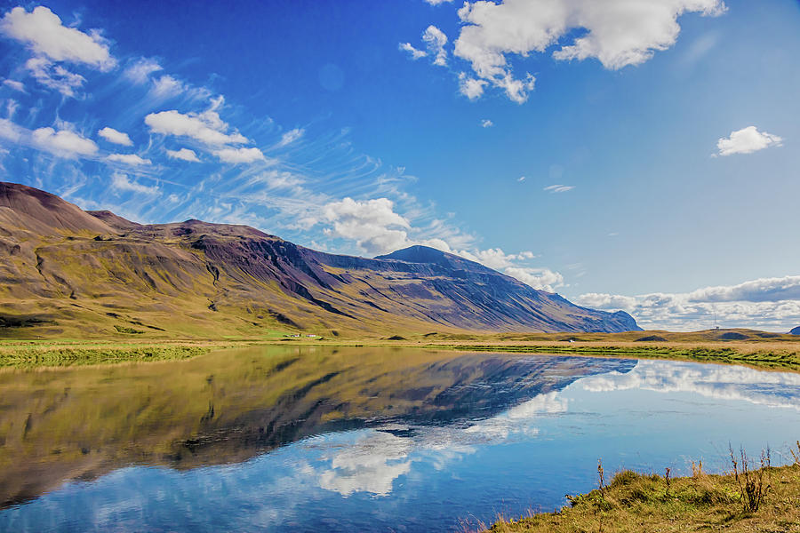 Iceland Reflection by Rich Isaacman