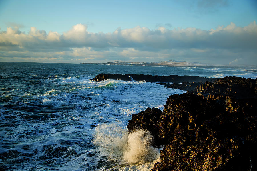 Iceland Rocky Coast by Kevin Banker