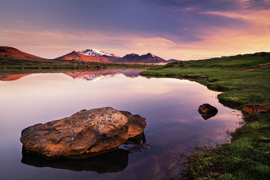 Iceland Upland Moor Photograph by Dennis Fischer Photography