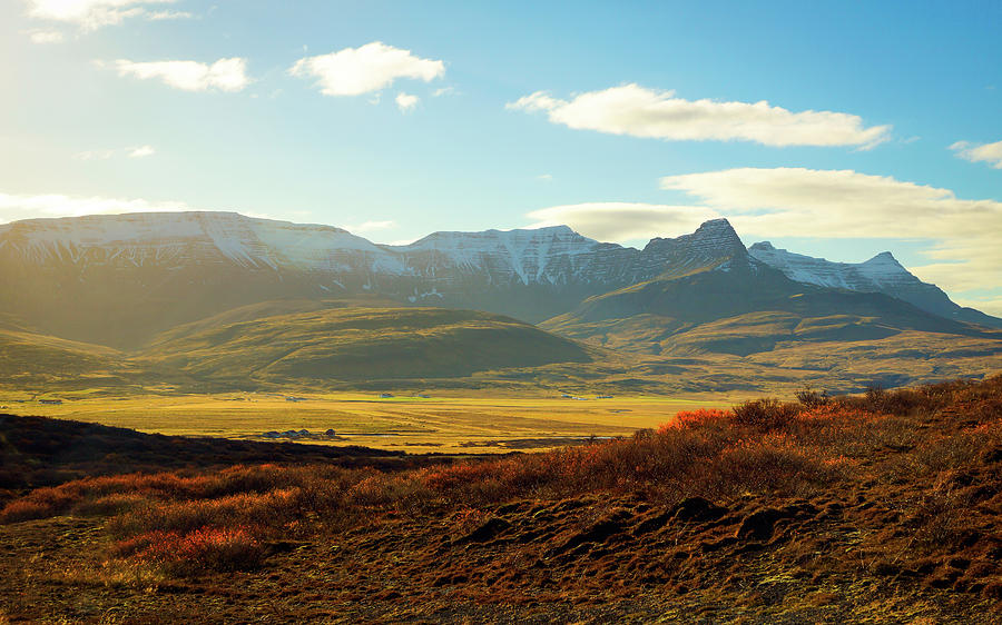 Iceland Photograph - Icelandic Landscape by Framing Places