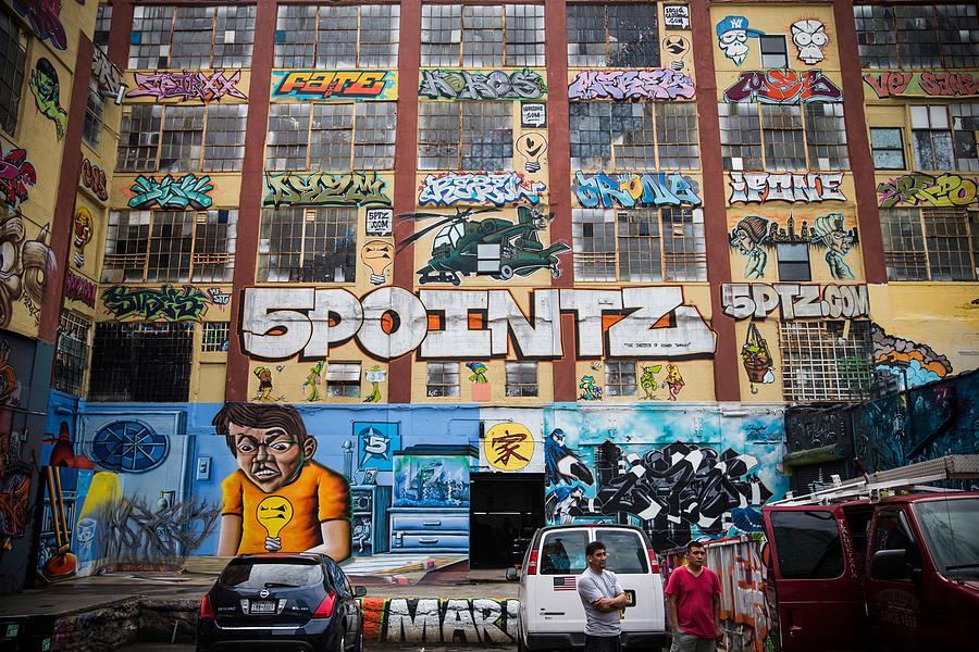 Iconic New York Graffiti Landmark To Be Photograph by Andrew Burton