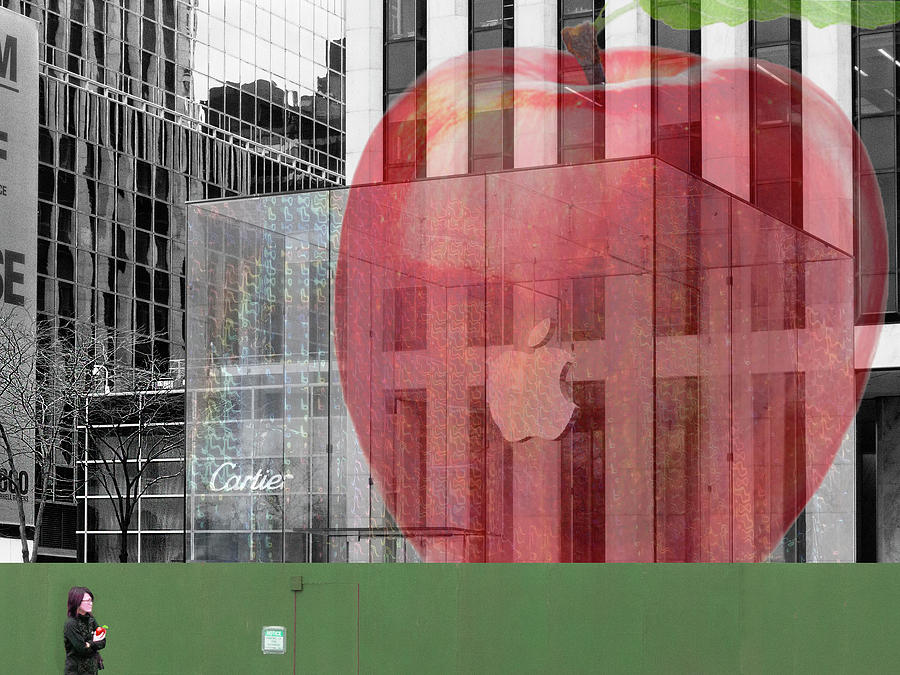 Apple Photograph - Icons With Apples by Jessica Levant
