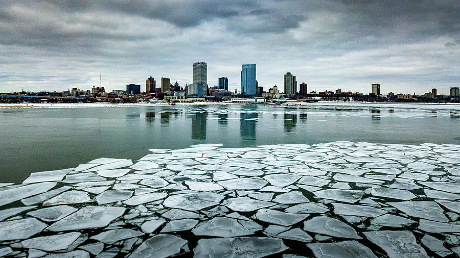 Icy Skyline by Randy Scherkenbach