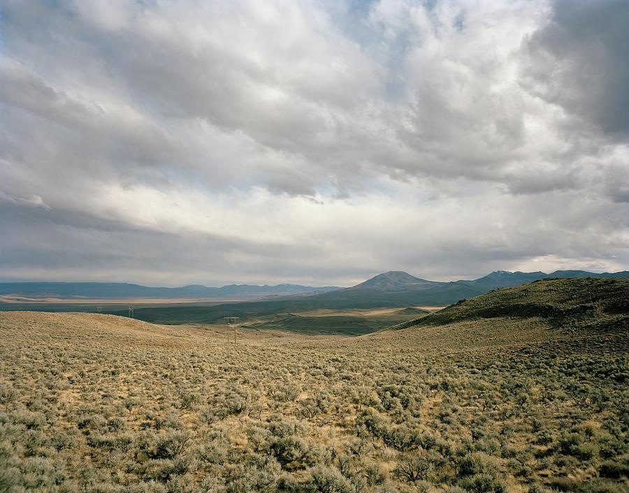 Idaho Desert, Landscape Of Desert With Photograph by Matthias Clamer