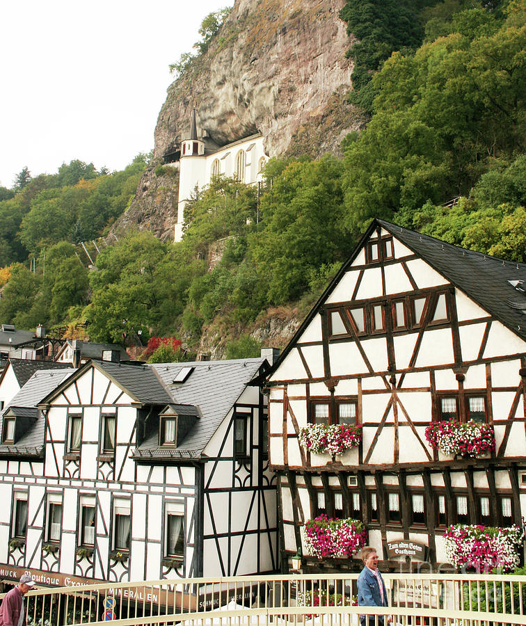 Idar-Oberstein-View on a Bridge by PJ Boylan