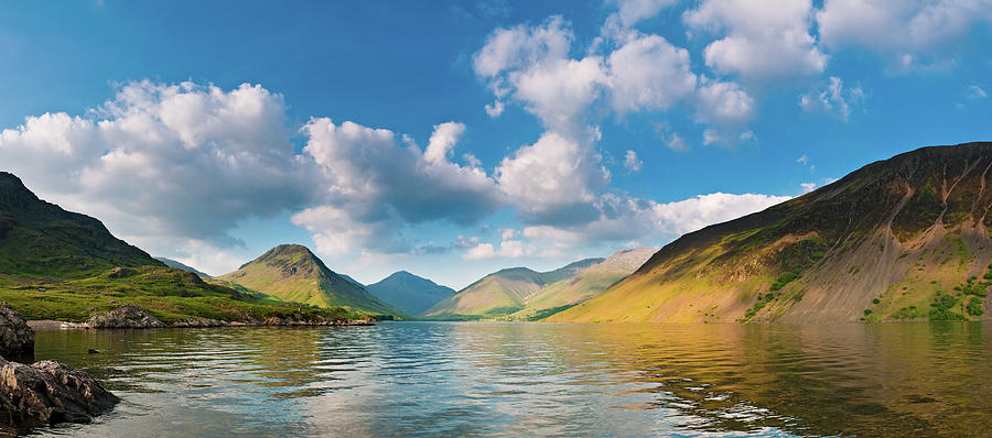 Idyllic English Lake District Landscape Photograph by Fotovoyager