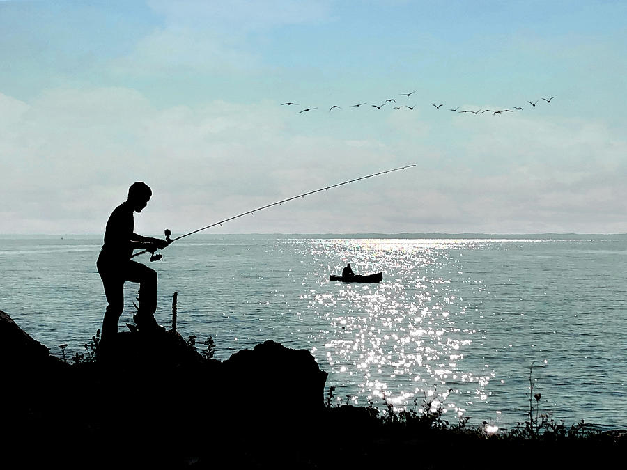 Fishing Photograph - Idyllic Morning  by Andrea Kollo