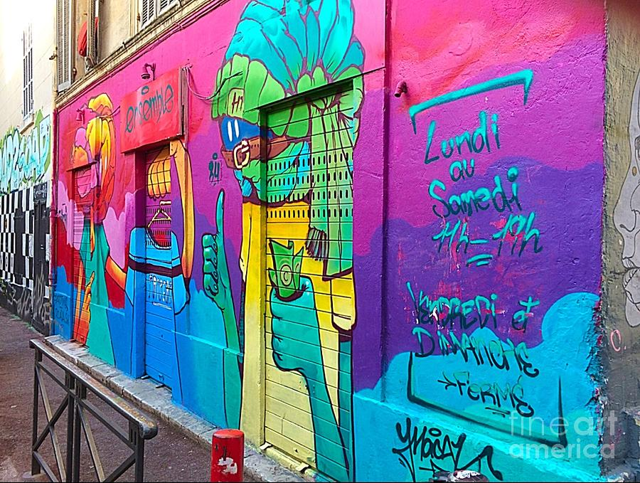 Colorful Painting - If You Love Graffiti  by Terri Price