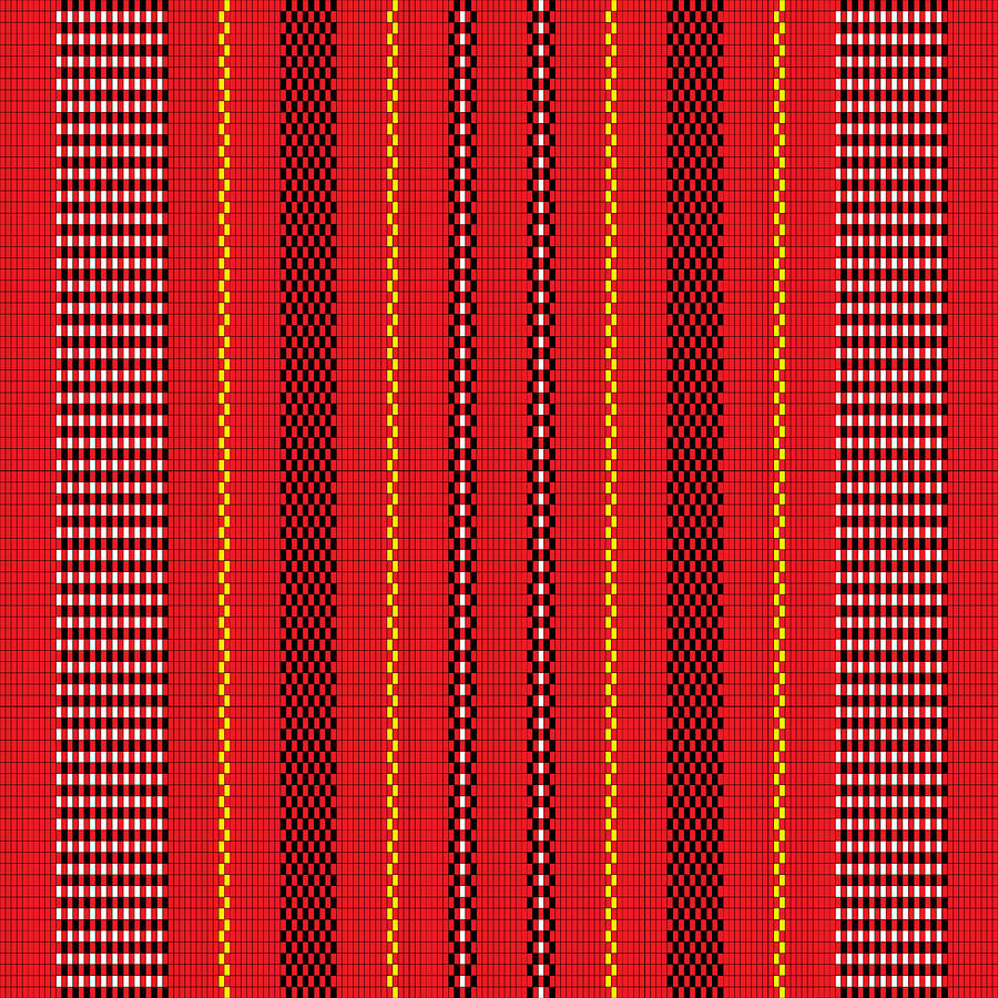 Ifugao Pattern Digital Art By Gp Abrajano