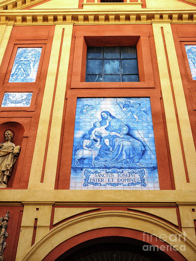 Iglesia del Senor San Jose in Seville by John Rizzuto