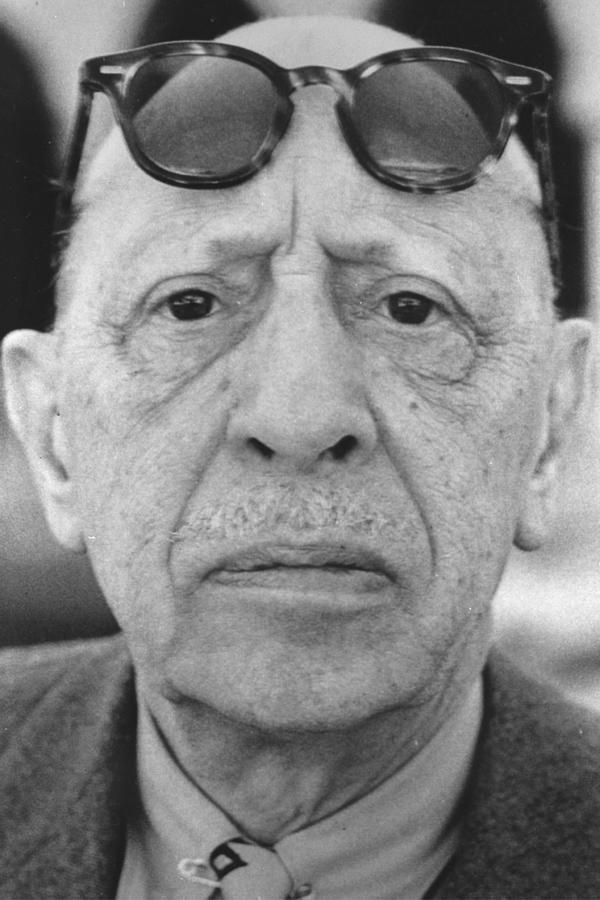 Igor Stravinsky Photograph by Hulton Archive