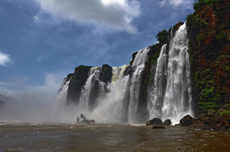 Iguassu Falls Photograph by Gabriel Sperandio