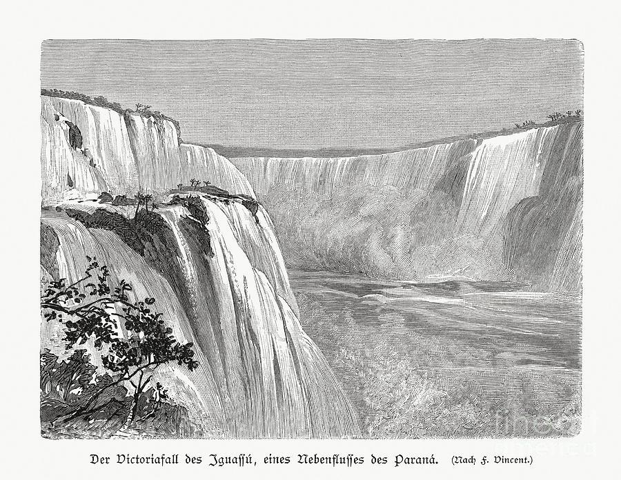 Iguazu Falls, Argentina And Brazil Digital Art by Zu 09