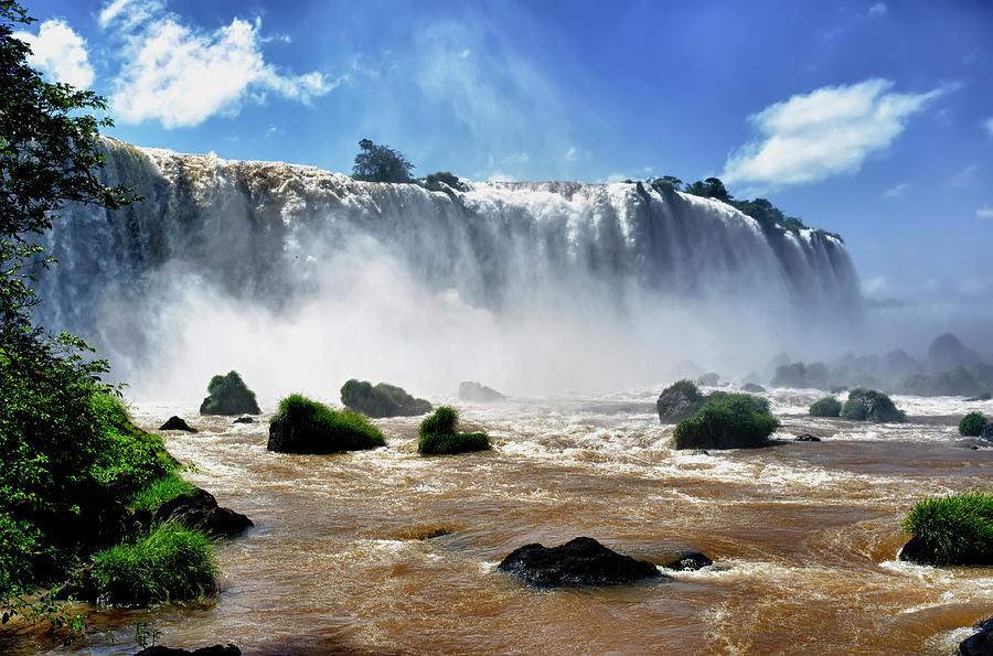 Iguazu Falls Photograph by Vlad Bezden