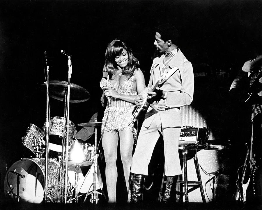 Ike & Tina At The Greek Photograph by Michael Ochs Archives