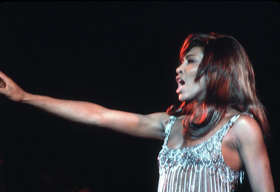 Ike & Tina At The Greek Theatre Photograph by Michael Ochs Archives