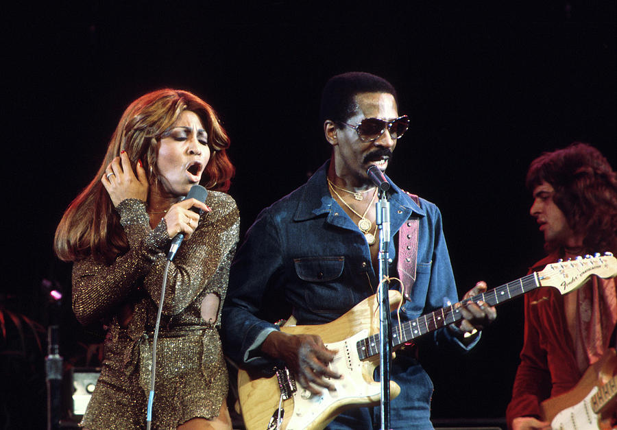 Ike & Tina In Los Angeles Photograph by Michael Ochs Archives