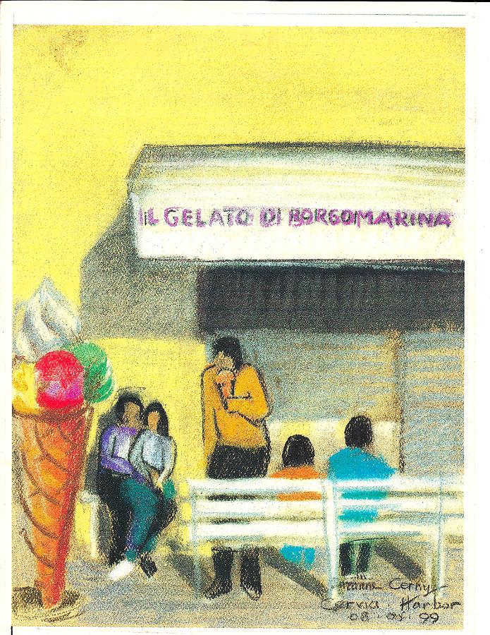 Il Gelato de Borgo Marina by Suzanne Cerny