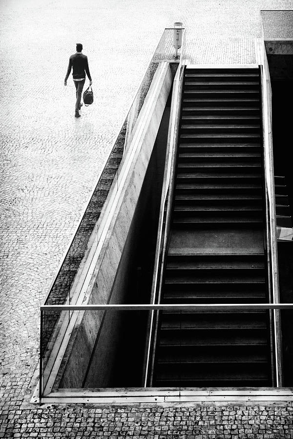 Street Photograph - Ill Be Long Gone by Laura Mexia