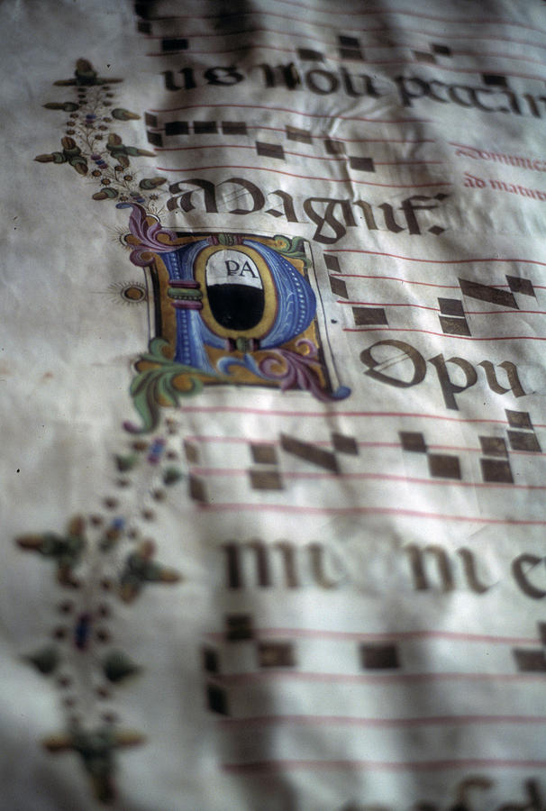 Illuminated manuscript by Steve Estvanik