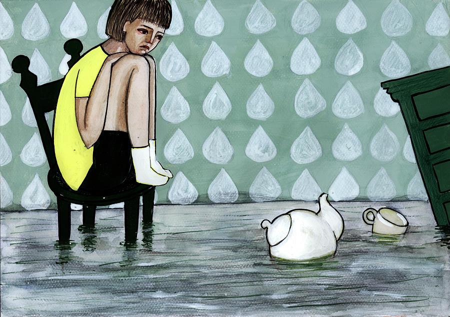 Illustration And Painting Digital Art by Georgiana Chitac