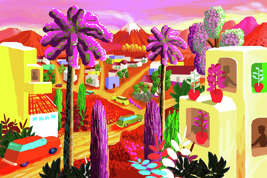 Illustration And Panting Digital Art by Charles Harker