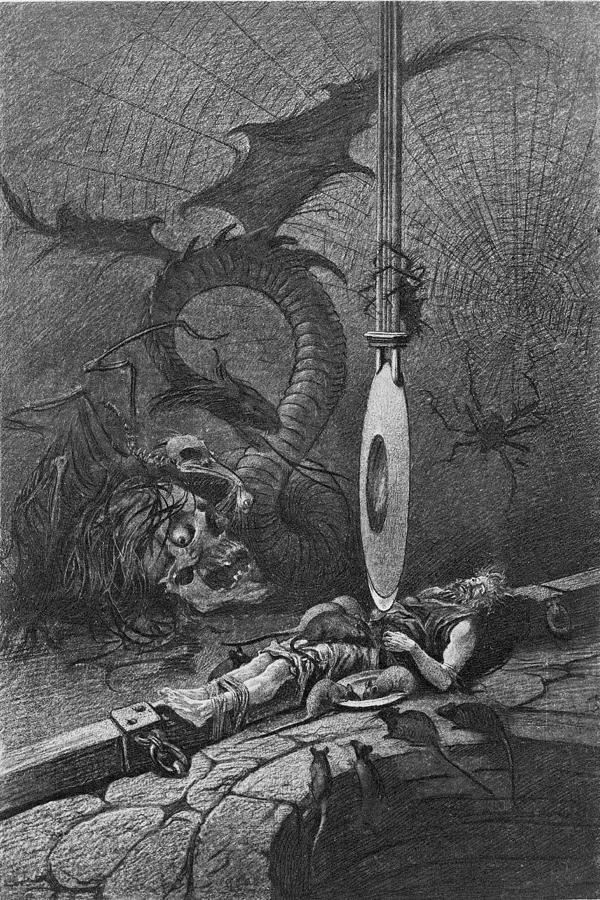 Illustration For Poes The Pit And The Photograph by Kean Collection