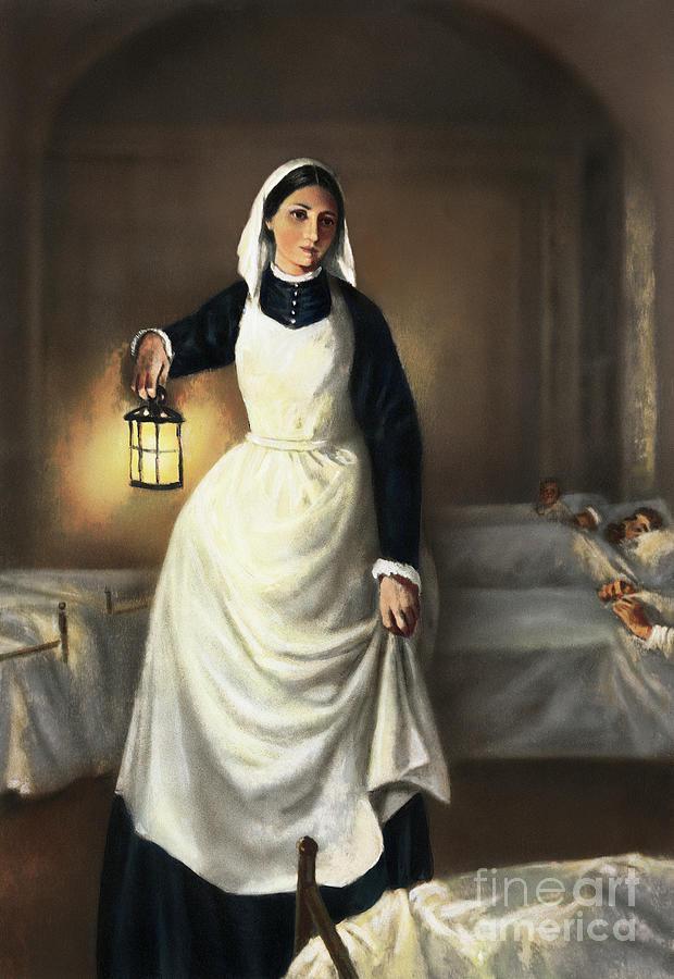 Illustration Of Florence Nightingale Photograph by Bettmann