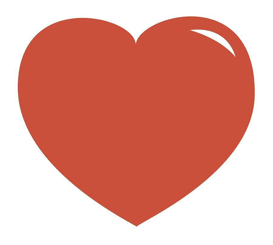 Illustration Of Pink Heart Shape Symbol Digital Art by Dorling Kindersley