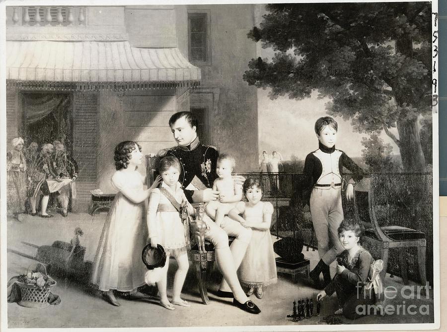 Illustration Showing Napoleon Photograph by Bettmann