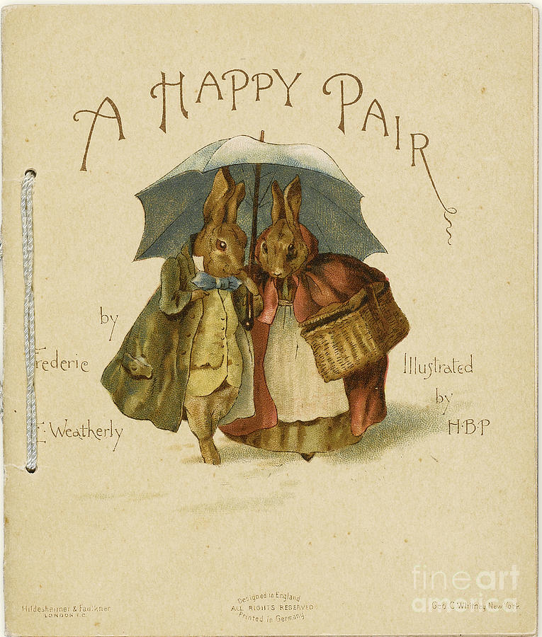 Illustration To A Happy Pair Drawing by Heritage Images
