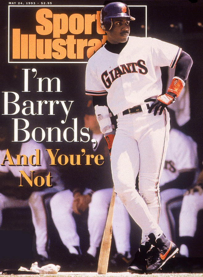 Im Barry Bonds, And Youre Not Sports Illustrated Cover Photograph by Sports Illustrated